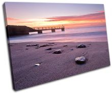 Bowleaze Cove Sunset Seascape - 13-0484(00B)-SG32-LO